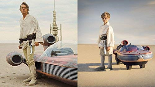 Star Wars Luke Skywalker' s Landspeeder(TM) 12 Volt Ride On -
