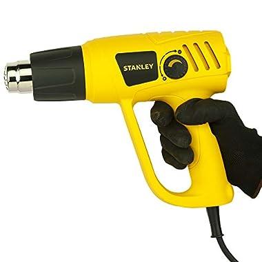 STANLEY STXH2000 2000W Variable Speed Heat Gun (Yellow and Black) 13