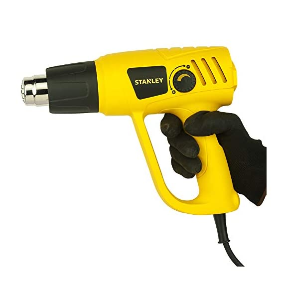 STANLEY STXH2000 2000W Variable Speed Heat Gun (Yellow and Black) 6