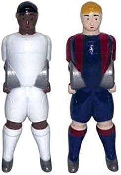 Jugador futbolin leader linares sam para barra 14mm athletic de ...