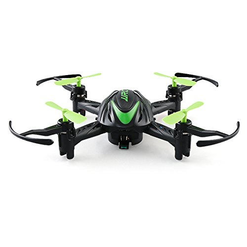 JJRC H48 Mini Drone with Camera with Infrared Control RC 4CH 6-Axis 3D Flips Selfie Pocket Remote RTF Quadcopter (Green)