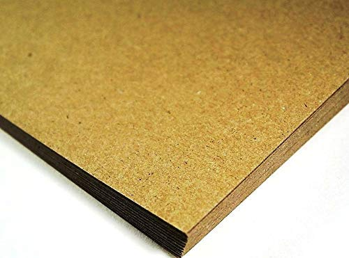 Cranberry Card Company Thick Brown Recycled Natural Kraft Card A4 280GSM x 50 Sheets