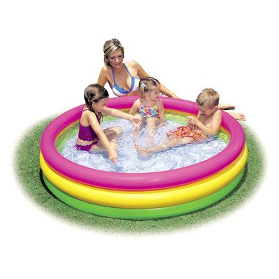 Intex Sunset Glow Inflatable Pool, 58 x 13