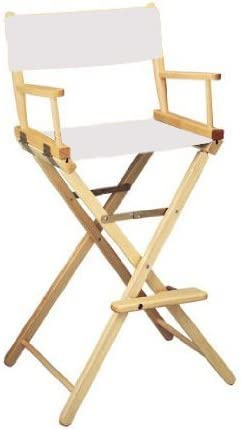 Hollywood Chairs by Totally Bamboo 32 Elm Director Chair, Black