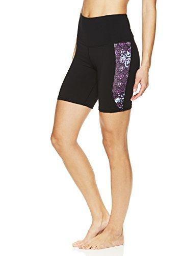 hort Performance Spandex Compression Legging Shorts - Black, Small ()