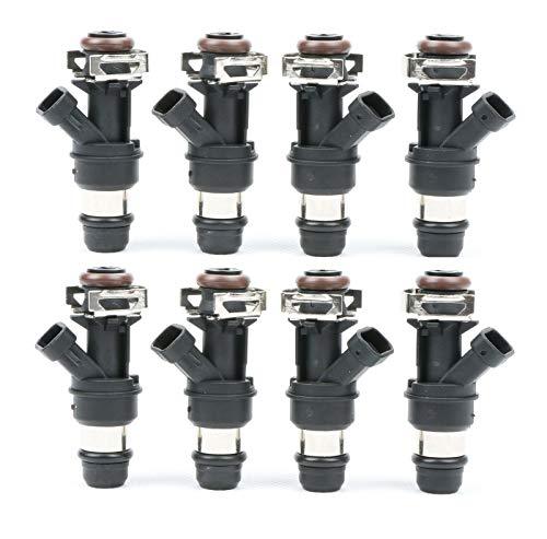 2500 Fuel Injector - MOSTPLUS 25317628 17113698 28lb Fuel Injectors for GM Engine 4.8L 5.3L 6.0L 01-07 Exc.Flex Fuel | ECU Required (Set of 8)