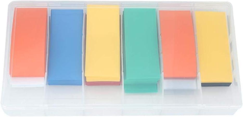 Tarente 280pcs PVC termorretr/áctiles bater/ía Wrap Kit for 18650 con Caja de Almacenamiento