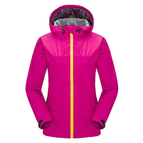 Zhuhaitf Ladies's Soprtswear Waterproof Windproof Jackets Single Layer Outerwear (Single Layer Jacket)