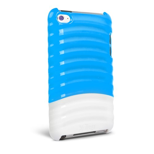 (iFrogz Pulse Case for iPod Touch 4 (Blue/ White))