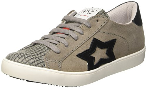 Adulto Sidney Chiodo Crosta Ardesia by Zapatilla 046 Nero Low Soft Unisex Baja Fake Marrone pT064qPwP
