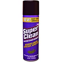 Multi Surface All Purpose Gunk Remover Aerosol Degreaser, Biodegradable, 17oz by Super Clean