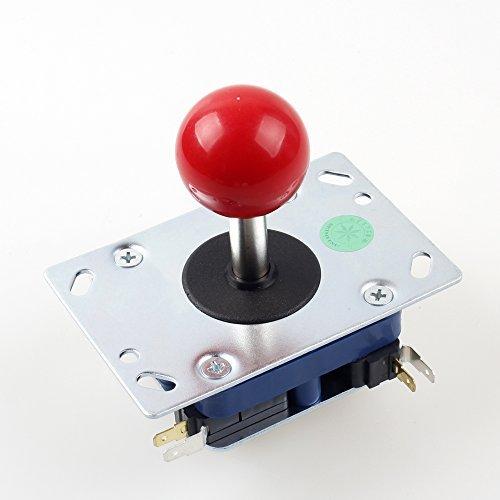 (Seimitsu LS - 32 Red 2 - 4 - 8 Way Stick For Arcade Video Games Machine TE Mad Catz Street Fighter Joystick DIY Kit Parts Mame Jamma)