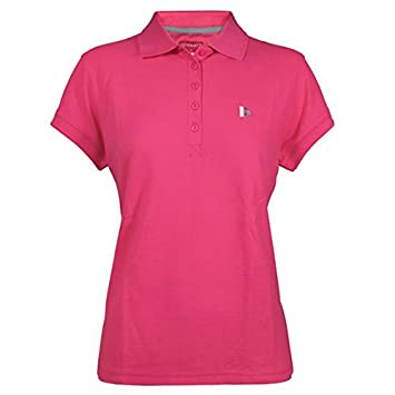 Donnay Basic Pique Polo mujer, mujer, rosa, xx-large: Amazon.es ...