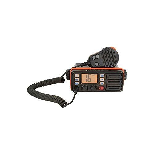 orangemarine WP150Fixed VHF Radio, Black/Orange