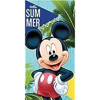 Toalla de Playa o Piscina Infantil de Disney Licencia Oficial (Mickey Mouse B)