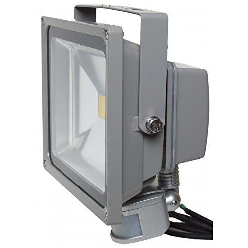 Proyector LED 50 W blanco neutro IR IP54 exterior: Amazon.es ...
