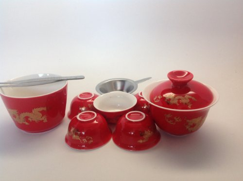 Travel Tea Set(Red Dragon) By Music City Tea