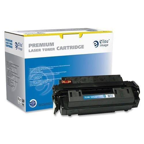 Elite Image 75100 Reman Toner Cartridge Replacement for HP 10A (Q2610A) Black