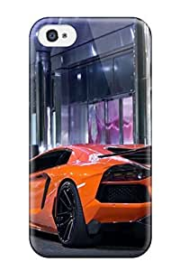 New Diy Design Lamborghini Adventador For Iphone 5/5S Cases Comfortable For Lovers And Friends For Christmas Gifts