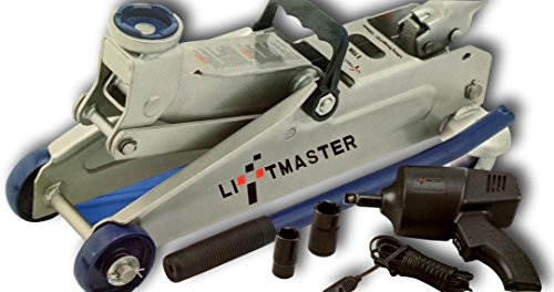 Why Choose Liftmaster 2 Ton Floor Jack and 12v Impact Wrench Set