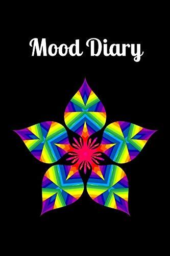 (Mood Diary: Colorful Striped Blossom Mandala)