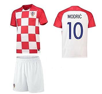 mqtwer Croacia Jersey 2018 Europeo 16-17 Jugador del Equipo Edición, XL, Inicio