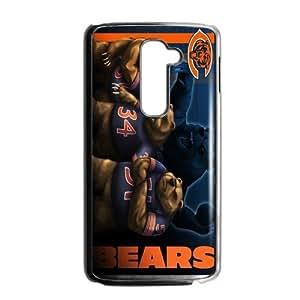 Fierce Panda Very Powerful Athlete Chicago Bears LG G2 Case Cover Shell (Laser Technology)