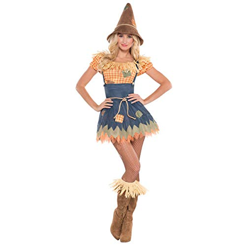 Adult Sultry Scarecrow Costume - X- Large (14-16) | 3 Ct.