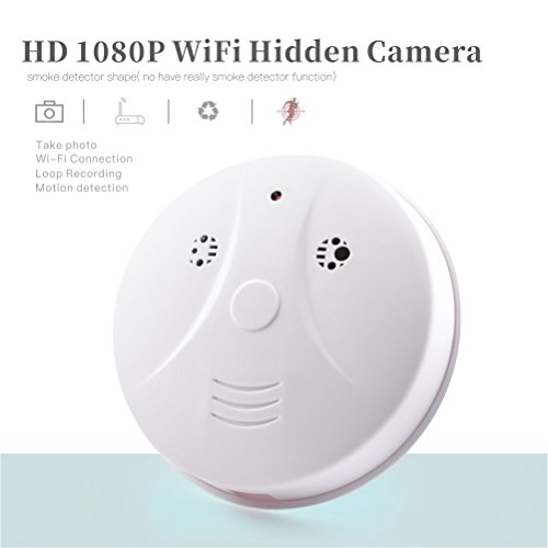 Spy Camera WiFi Hidden Camera Detector Motion Activated Recording Nanny Cam Wireless Video Recorder Netowrk Security Camera Support iOS Android