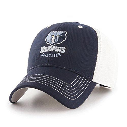 NBA Memphis Grizzlies Sling OTS All-Star Adjustable Hat, Navy, One Size (Memphis Grizzlies Gear)