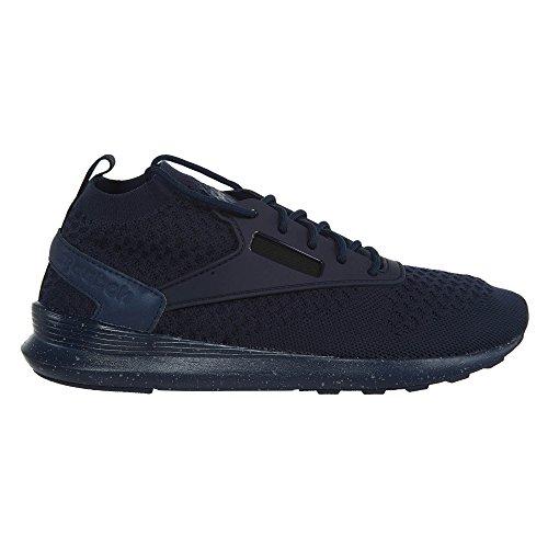 Reebok Zoku Coureur Ultraknit Est Chaussures Hommes Collégial Marine / Noir / Blanc
