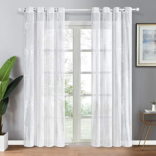 Top Finel Grommet Curtains Embroidered product image