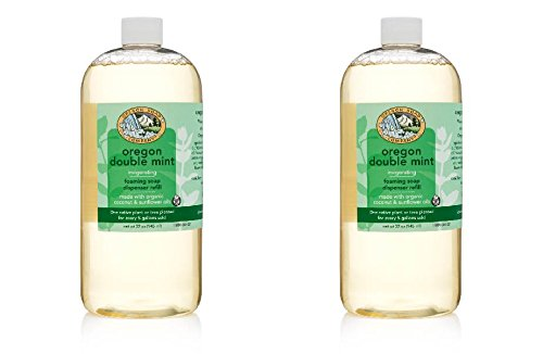 - Oregon Soap Company - Foaming Liquid Hand Soap REFILL, Made with USDA Certified Organic Oils (32 oz (2 Pack), Oregon Double Mint)