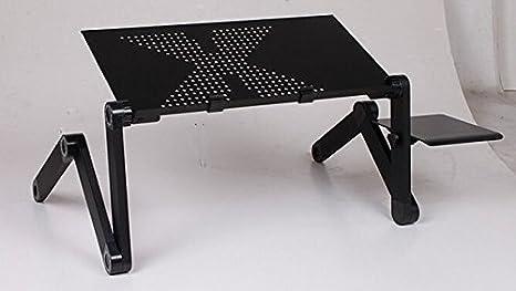 Tavolo Da Disegno Portatile : Nero pieghevole da tavolo laminazione di notebook