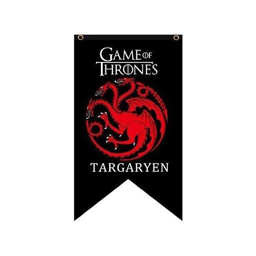Game of Thrones Haus Targaryen Banner