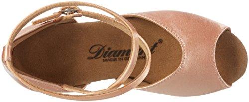 Diamant Mädchen Tanzschuhe 022-030-094, Zapatos de Tacón para Niñas Beige - beige