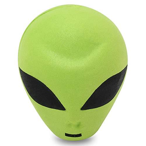 HappyBalls Green Alien Antenna Topper / Mirror Dangler / Desktop Spring  Stand / Auto Accessory