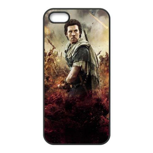 Perseus Wrath Of The Titans coque iPhone 4 4S Housse téléphone Noir de couverture de cas coque EEEXLKNBC19667