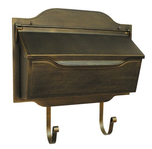 Special Lite Products SHC-1002-BR Contemporary Horizontal Mailbox, Bronze