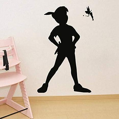 chaussures exclusives large choix de couleurs et de dessins complet dans les spécifications BRILLINT.YY Stickers Muraux Enfants Sticker Mural Peter Pan ...