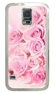 A Bunch of Roses Samsung Galaxy S5 Transparent Sides Hard Shell Case by Sakuraelieechyan