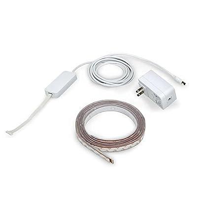 Philips Hue LightStrip Plus Dimmable LED Smart Light (Compatible with Amazon Alexa Apple HomeKit, and Google Assistant) (Renewed)