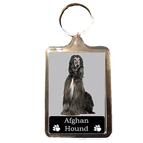 Afghan Hound - Collectable Dog Keyring