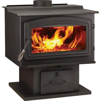 Epa Large Wood Burning Stove (WoodPro Wood Stove - 115,000 BTU, EPA-Certified, Model# WS-TS-2500)