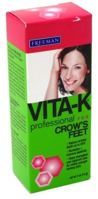 Vita K Solution Dark Circles - Vita-K Professional Crows Feet 0.5oz (2 Pack)