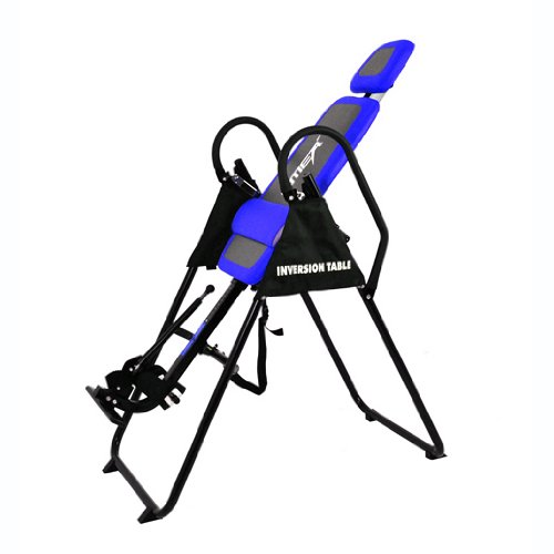 For Sale! Emer Deluxe Padded Foldable Gravity Inversion Table for Back Therapy Exercise Fitness