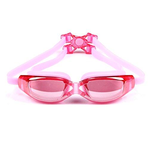 Femme Lunettes buée Black Couleur Lunettes imperméables HD natation de masculines Pink ZHJING Anti wx6XB6En