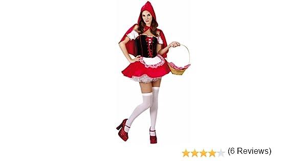 Disfraz de Caperucita Roja para mujer: Amazon.es: Juguetes y juegos