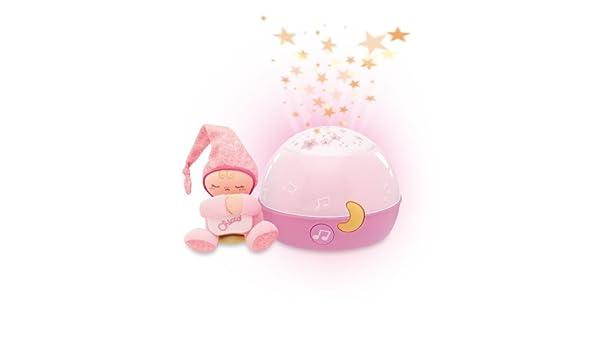 Chicco proyector buenas noches estrellas, Rosa: Amazon.es: Bebé