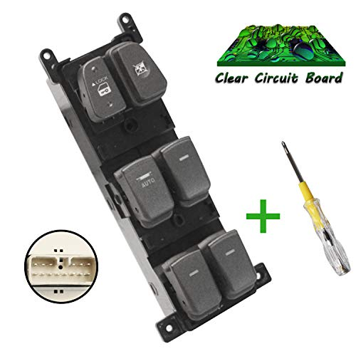 Beneges Master Power Window Switch Compatible with 2008-2010 Hyundai Sonata Front Left Driver Side Control Switch 935703K600, 93570-3K600 ()